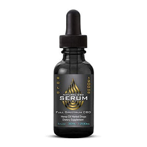 Natural Serum CBD Hemp Extract SS - Limited Stock
