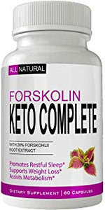 Forskolin Keto Complete - Trial (Limited Stock)