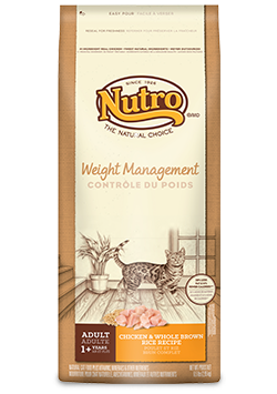 Nutro Adult Cat Food | Weight Management Formula | Chicken & Whole Brown Rice Recipe
