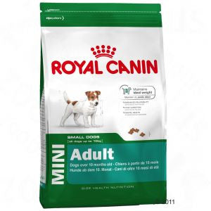 Royal Canin MINI Adult Dog Food Packaging