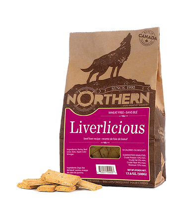 Northern Premium Dog Biscuits | Liverlicious Recipe | 500g Pack