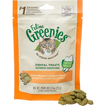 Greenies Feline Dental Treats | Chicken Flavour