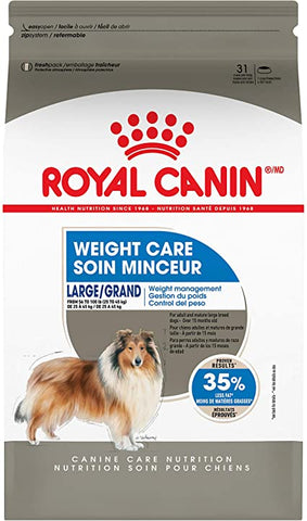 Royal Canin Adult Dog Food | Large Weight Care Formula | 30 lb Bag (Formerly MAXI Weight Care)