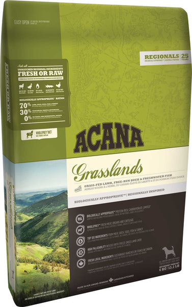 Acana Premium Adult Dog Food | Grasslands Grain-Free Formula