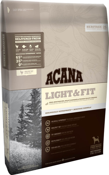 Acana Premium Dog Food | Grain-Free Formula | Light & Fit Formula