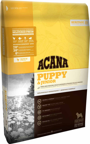 Acana Premium Puppy & Junior Dog Food | Grain-Free Formula