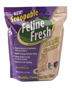 Feline Fresh Premium Cat Litter | Scoopable Clumping Pine