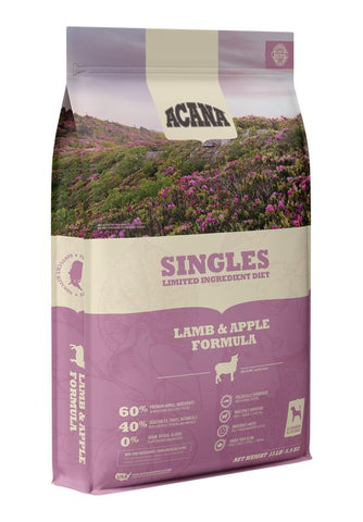 Acana Premium Adult Dog Food | Lamb & Apple Grain-Free Formula