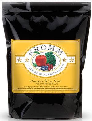 Fromm Premium Cat & Kitten Food | Four-Star Grain-Free Formula | Chicken A La Veg Recipe