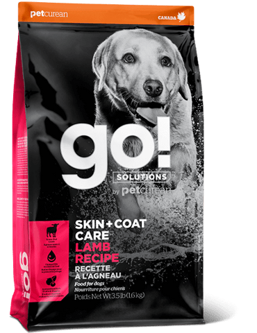 Go! Premium Dog Food | Skin & Coat Care | Lamb Recipe