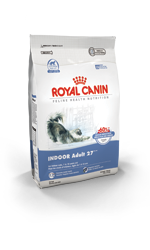 Royal Canin Indoor Adult 27 Cat Food packaging