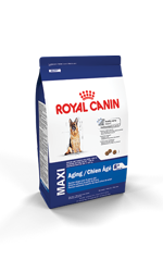 Royal Canin MAXI Aging 8+ Dog Food Packaging