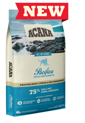 Acana Premium Cat & Kitten Food | Pacifica Grain-Free Formula