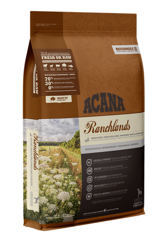 Acana Premium Adult Dog Food | Ranchlands Grain-Free Formula