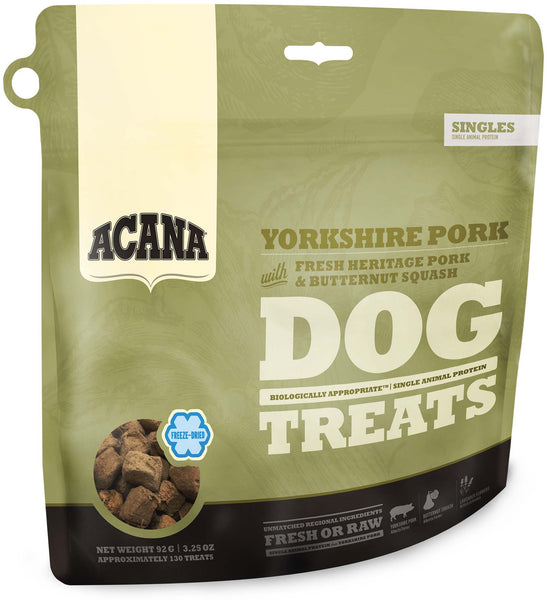 Acana Premium Freeze-Dried Dog Treats | Yorkshire Pork Formula