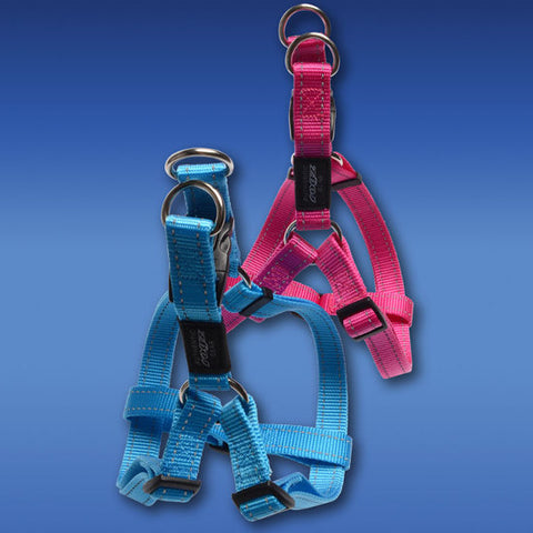 Rogz Dog Step-in Harness | Reflective Stitching