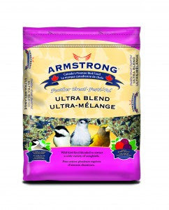 Armstrong Songbird Seed | Ultra Blend Feather Treat | 33 lb Bag