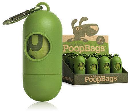 Earth Rated Biodegradable Dog Poop Bags | Green Dispenser with Included Roll