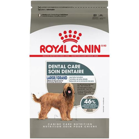 Royal Canin Premium Dog Food | Large Dental Care Formula | 30 lb Bag