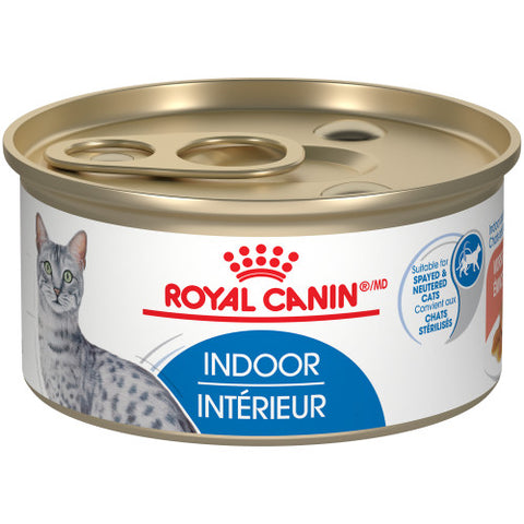 Royal Canin Indoor Adult Premium Canned Cat Food | 85 g Can (Case of 24)