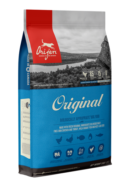 Orijen Premium Original Dog Food | Grain-Free Formula