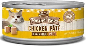 Merrick Purrfect Bistro Premium Canned Cat Food | Grain-free Recipe | Chicken Pate Recipe | 5.5 oz. Can