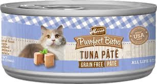 Merrick Purrfect Bistro Premium Canned Cat Food | Grain-free Recipe | Tuna Pate | 5.5 oz. Can