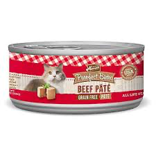 Merrick Purrfect Bistro Premium Canned Cat Food | Grain-free Recipe | Beef Pate | 5.5 oz. Can