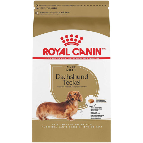 ROYAL CANIN ADULT DACHSHUND FOOD | 10 LB BAG