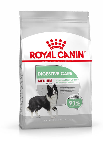 Royal Canin Adult Medium Dog Food |  Digestive Care Formula (Formerly Sensitive Digestion) | 30 lb Bag