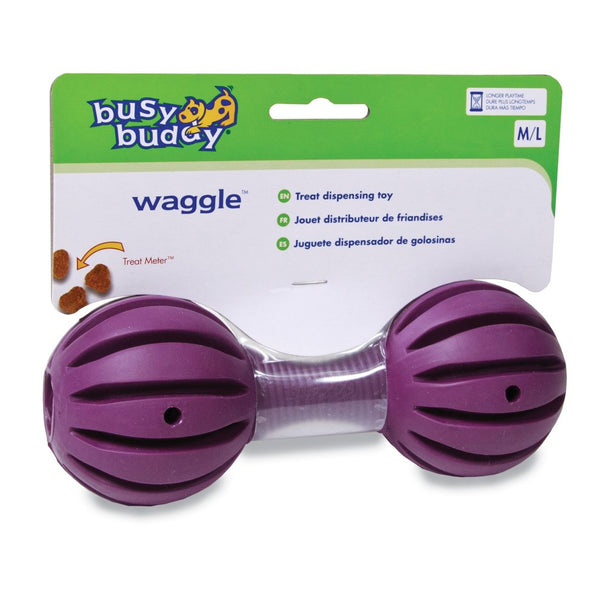 PetSafe Busy Buddy Waggle Treat Dispensing Dog Toy | Small (For Dogs 8-25 lbs)
