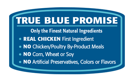 True Blue Promises LIfe Protection Chicken and Brown Rice Dog Food