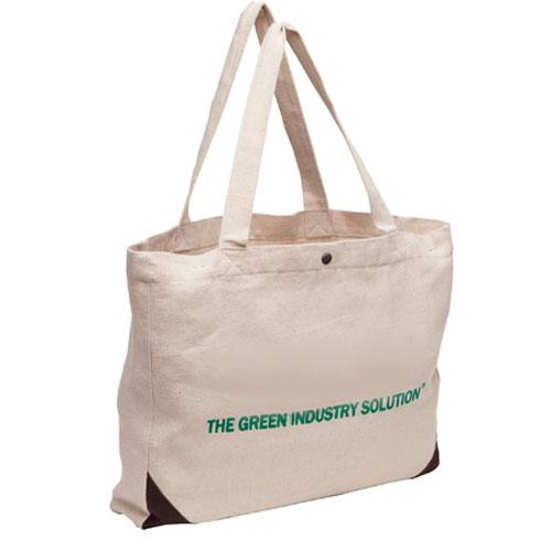 Outline Jute Cotton Blend Bag - Promotional Products