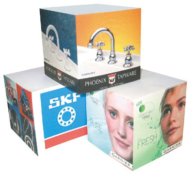 Sticky Memo Cube - Full - Promotional Products
