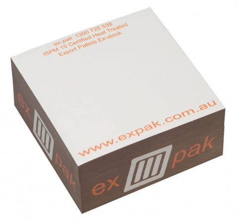 Sticky Memo Cube - Half - Promotional Products