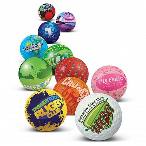 Eden Full Colour Round Stress Ball. - Promotional Products