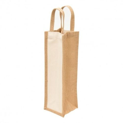 Murray Jute Wine Tote - Promotional Products