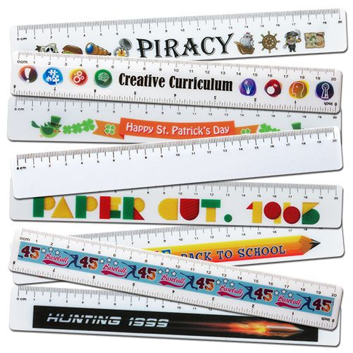 20cm Full Colour Ruler - Promotional Products
