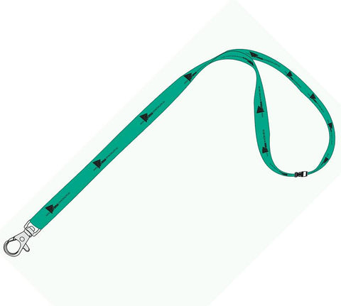 20mm Standard Logo Lanyard with 1 Safety Breakaway - Promotional Products