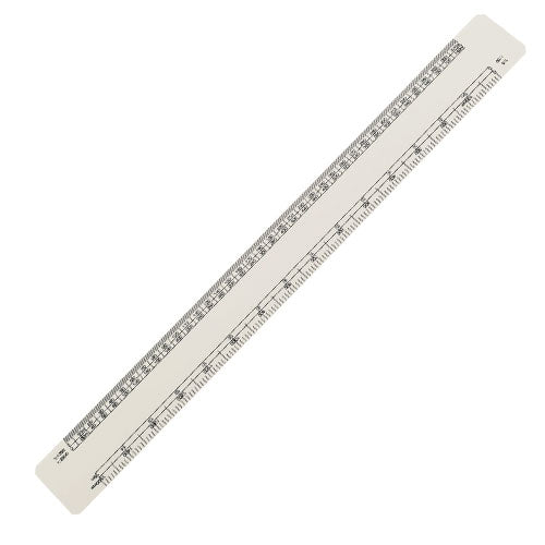 30cm Oval Scale Ruler