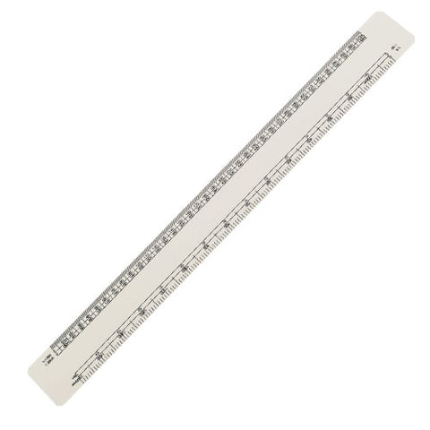 30cm Oval Scale Ruler - Promotional Products