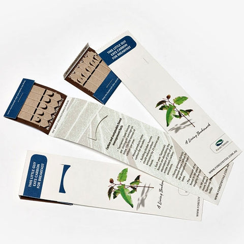 Seed 5 Stick Bookmark - Promotional Products