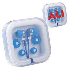 Avalon Coloured Earphones - Promotional Products