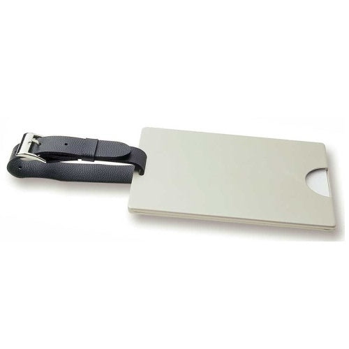 Avalon Pearl Nickel (Executive) Luggage Tag - Promotional Products