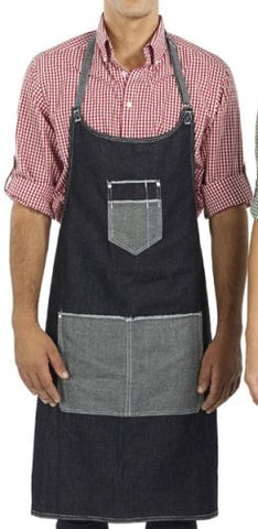 Reflections Deluxe Denim Apron - Corporate Clothing