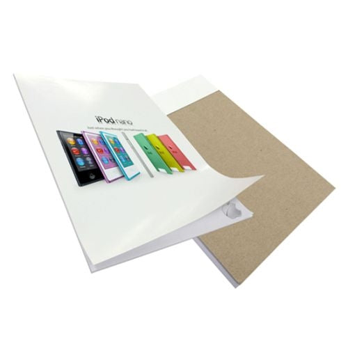 Writing Pad with Full Colour Wrap Over Front Cover - Promotional Products