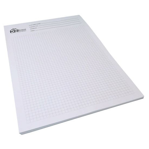 A4 Printed Notepad - Promotional Products