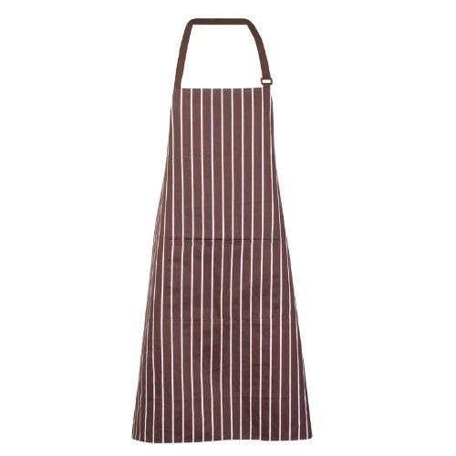 Retro Stripe Bib Apron - Corporate Clothing