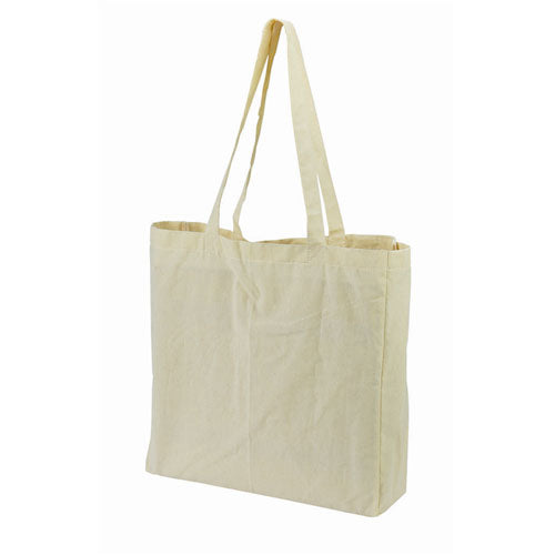 A Calico Carry Bag With Gusset