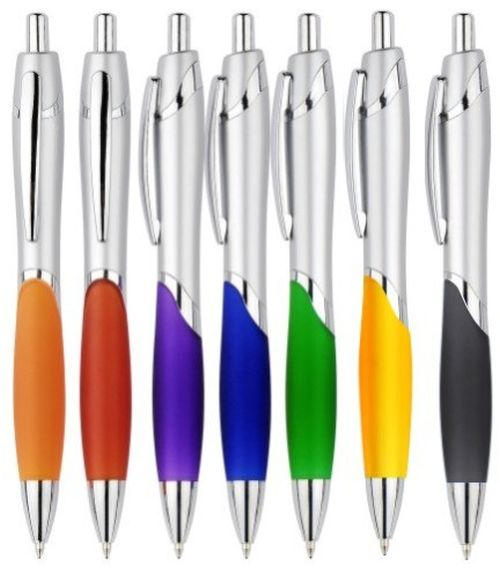 Arc Rubber Grip Pen - Promotional Products